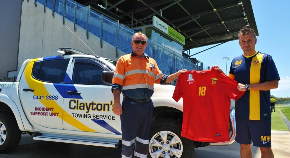 SPONSORSHIP RENEWAL: Clayton's Towing