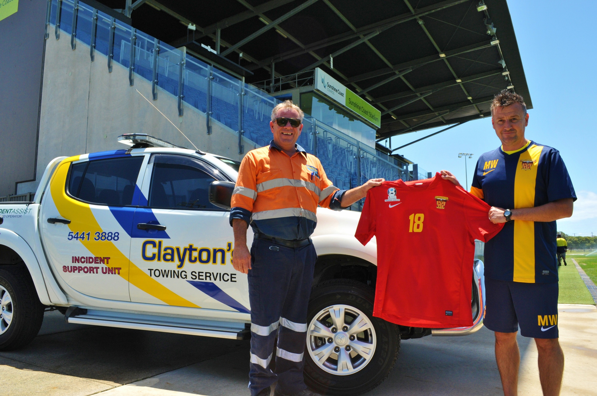 SPONSORSHIP RENEWAL: Clayton's Towing