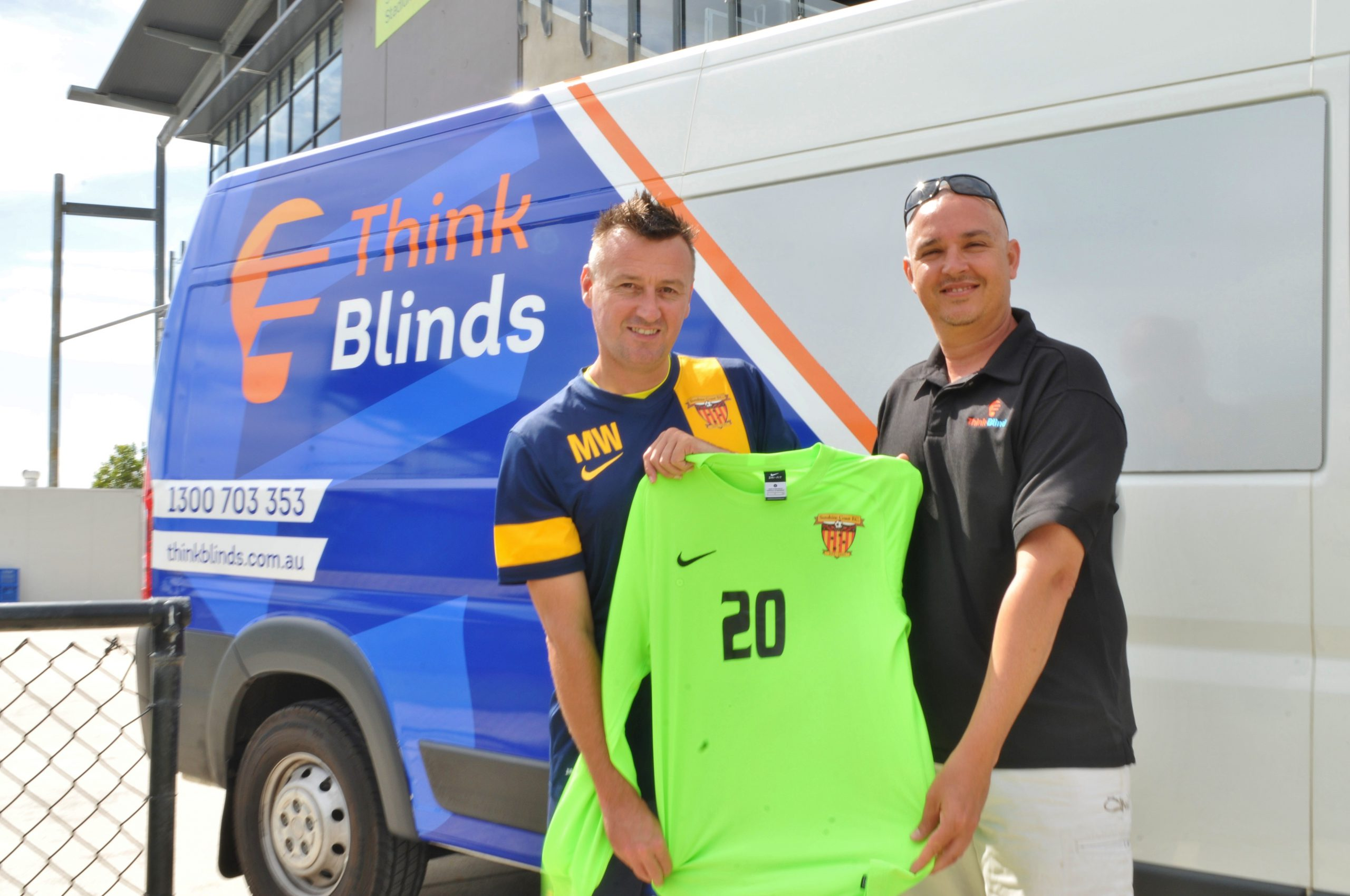 Think Blinds partners with Sunshine Coast FC