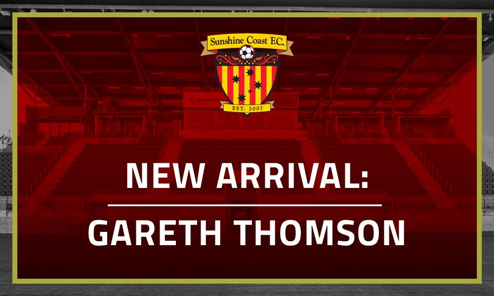 New Arrival: Gareth Thomson