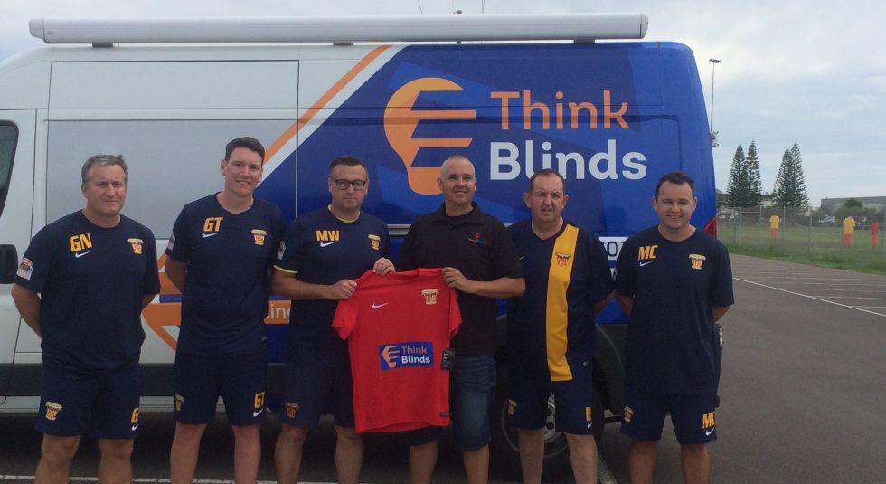 Think Blinds renew partnership as U20 Sponsor