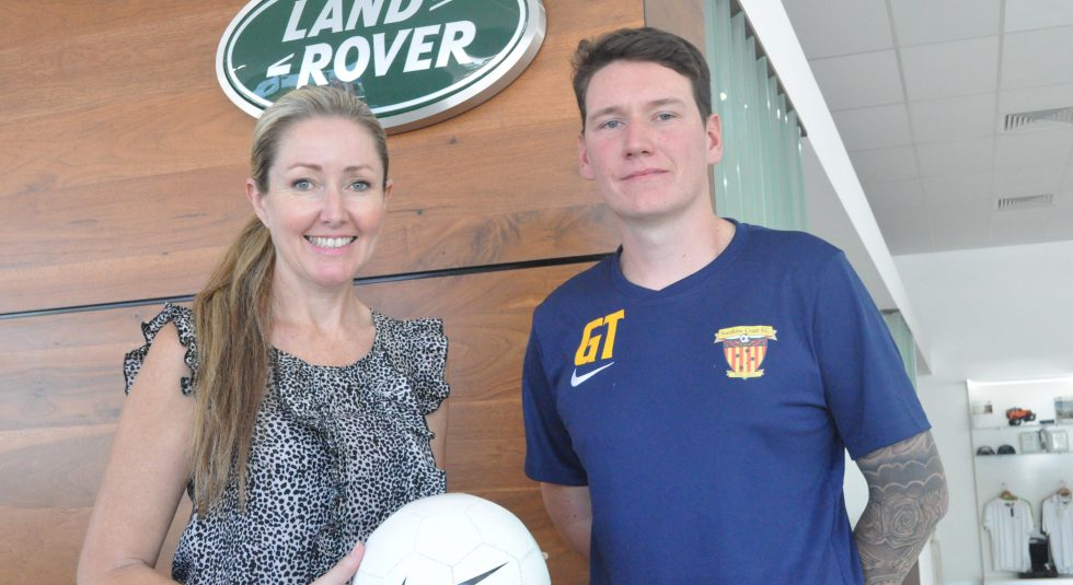 Pacific Land Rover sign on as new club sponsor