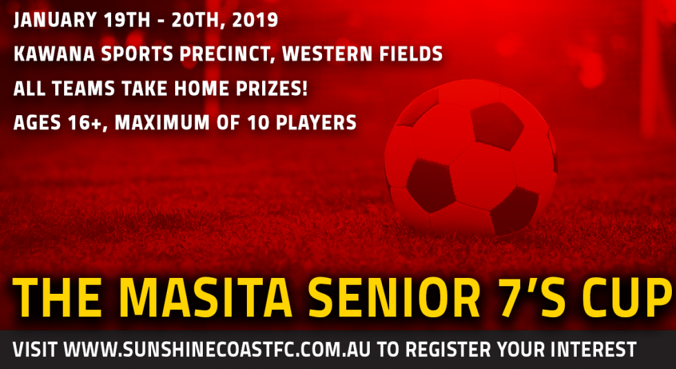 The Masita Senior 7's Cup - January 2019
