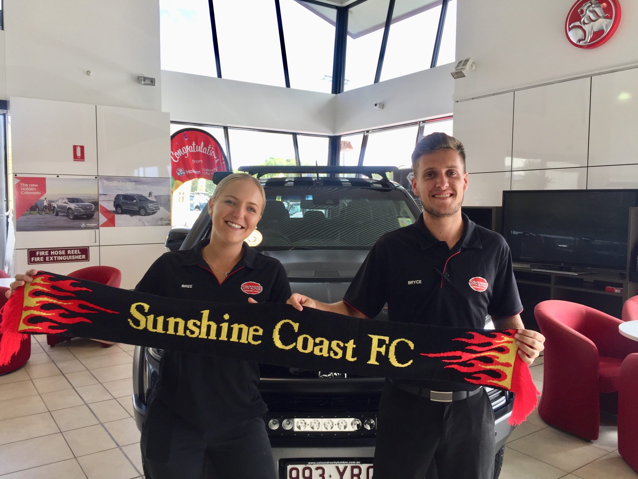 Caloundra City Autos Partner With The Fire