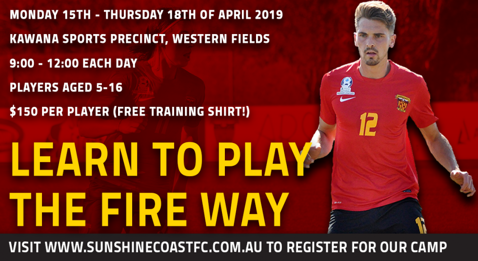 Learn To Play The Fire Way This April!