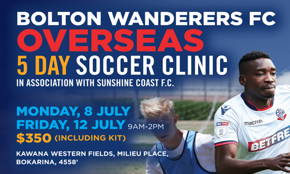 Train With Bolton Wanderers This July!