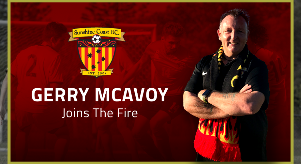 Senior Coaching Announcement: Gerry McAvoy Joins Fire