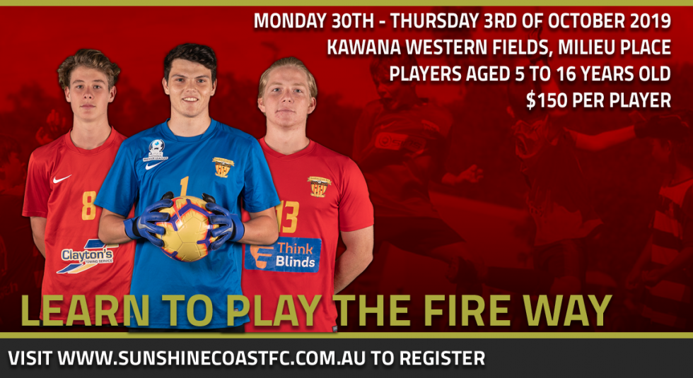 Learn To Play The Fire Way This October!