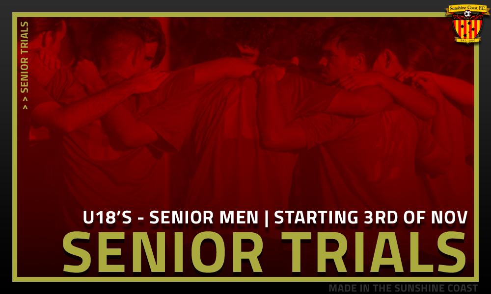 SCFC Senior Trials 2020