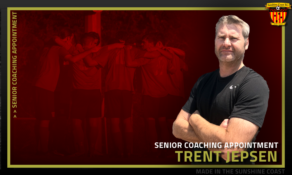 Trent Jepsen Appointed Under 20's Coach