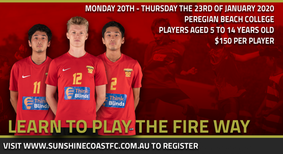 Learn To Play The Fire Way This January!
