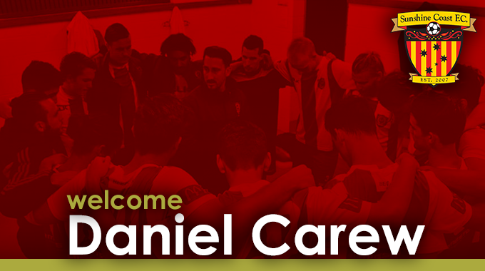 Senior Coaching Appointment: Daniel Carew